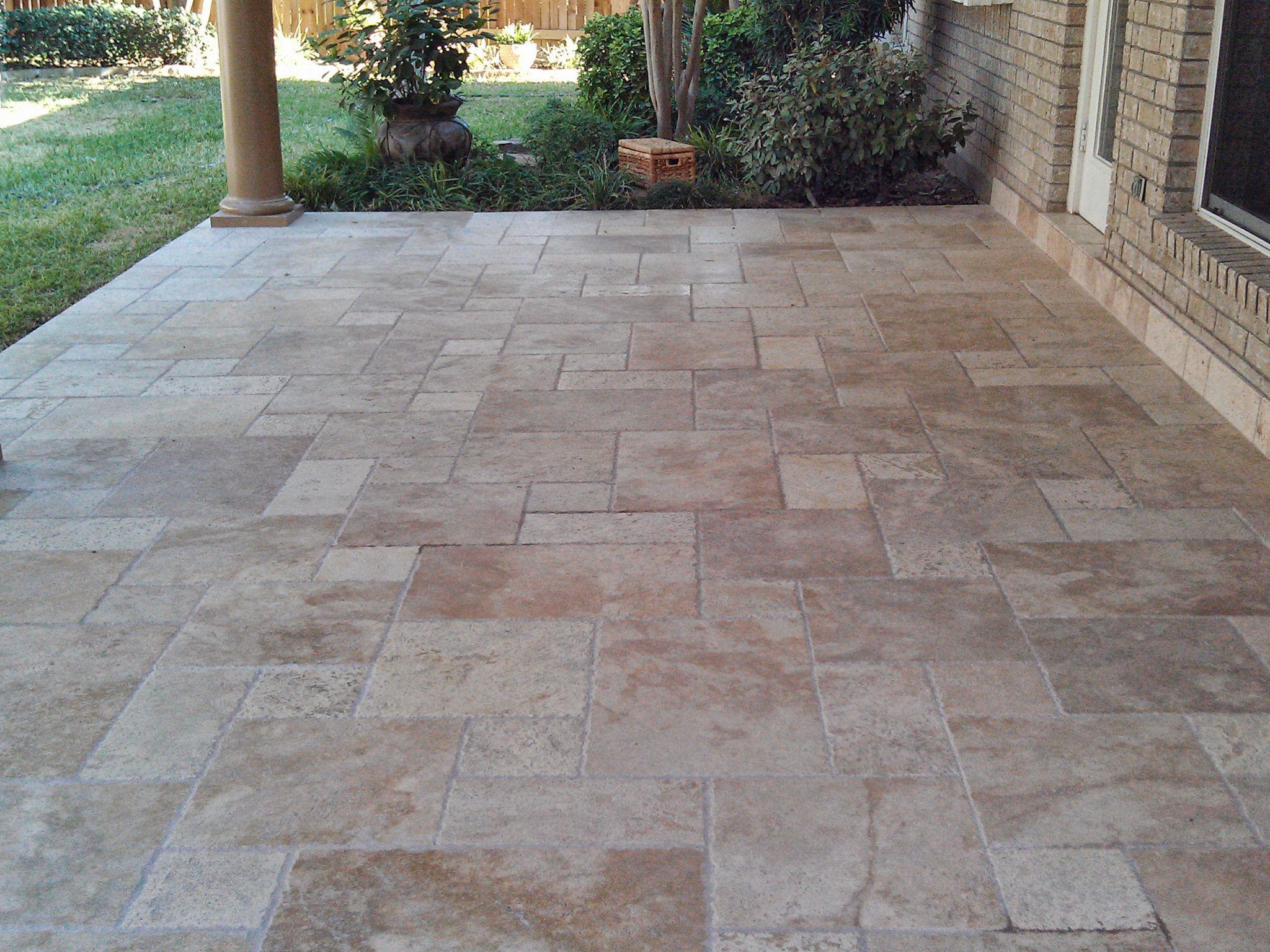 Decorative Concrete / Travertine / Flagstone Gallery