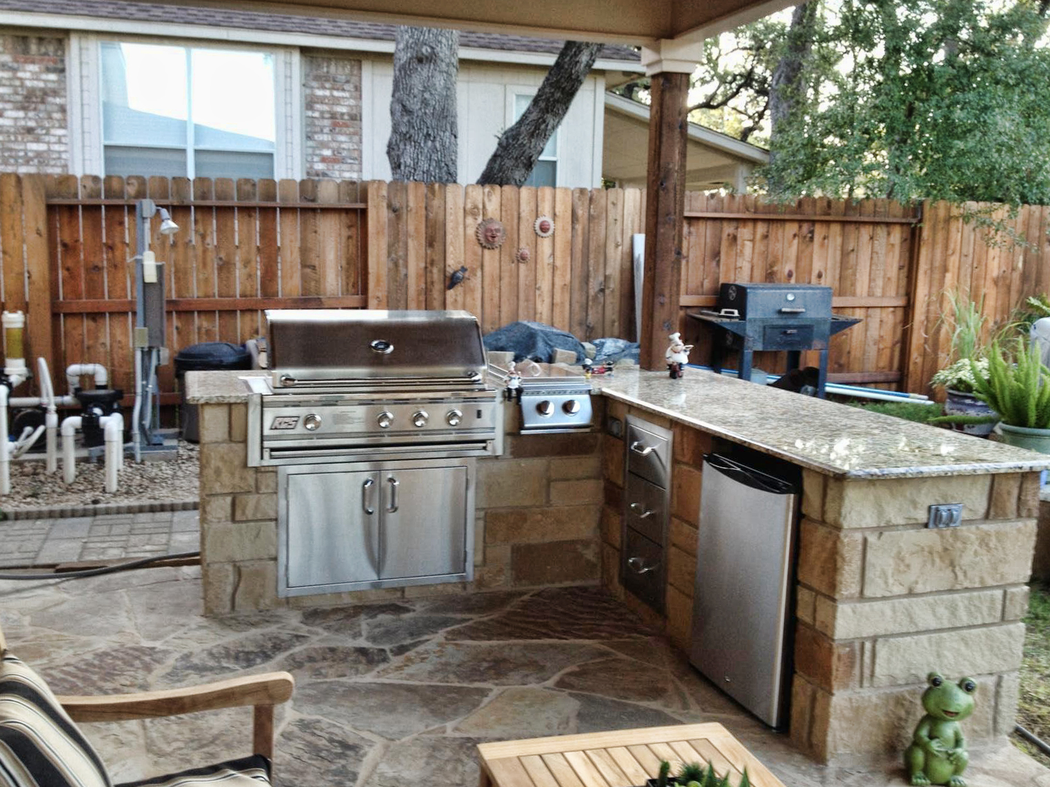Outdoor Kitchens And Bars Fine Patio Design